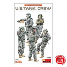 US TANK CREW MODERN MINIART 37005