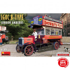 LGOC B-TYPE LONDON OMNIBUS MINIART 38021