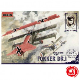 FOKKER Dr.I WORLD WAR I RODEN 010