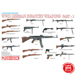 WWII GERMAN INFANTRY WEAPONS PART 1 DRAGON 3809