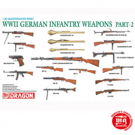 WWII GERMAN INFANTRY WEAPONS PART 2 DRAGON 3816