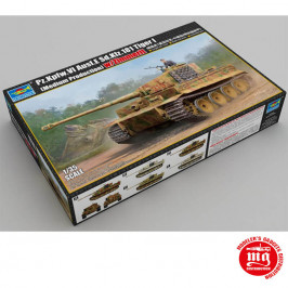 Pz.Kpfw.VI Ausf.E Sd.Kfz.181 TIGER I MEDIUM PRODUCTION WITH ZIMMERIT TRUMPETER 09539