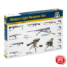 MODERN LIGHT WEAPONS SET ITALERI 6421