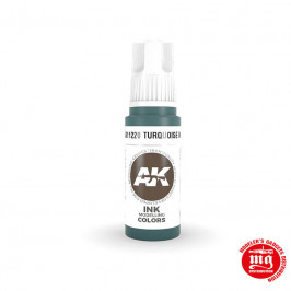 TURQUOISE INK AK11220