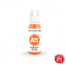 CLEAR ORANGE STANDARD AK11218