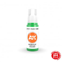 CLEAR GREEN STANDARD AK11216