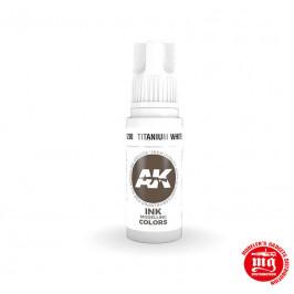 TITANIUM WHITE INK AK11230