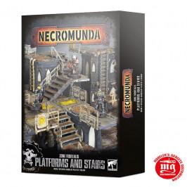 NECROMUNDA ZONE MORTALIS PLATFORMS AND STAIRS WARHAMMER 300-49
