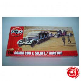88mm GUN AND SD.KFZ.7 TRACTOR AIRFIX A02303