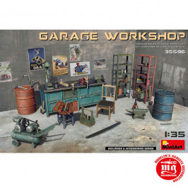 GARAGE WORKSHOP MINIART 35596