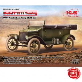 MODEL T 1917 TOURING WWI AUSTRALIAN ARMY STAFF CAR ICM 35667