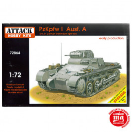 PzKpfw I Ausf. A WWII GERMAN WEHRMACHT LIGHT TANK EARLY PRODUCTION ATTACK HOBBY KITS 72864