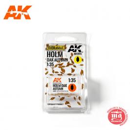 HOLM OAK AUTUMN HOJAS DE ROBLE AK8115