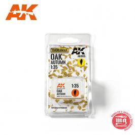 OAK AUTUMN HOJAS DE ROBLE AK8105