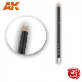 WEATHERING PENCIL FOR MODELLING WHITE AK10004