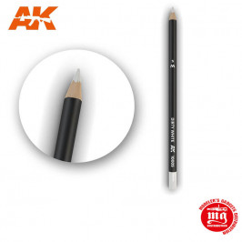 WEATHERING PENCIL FOR MODELLING DIRTY WHITE AK10005