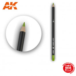 WEATHERING PENCIL FOR MODELLING LIGHT GREEN AK10007