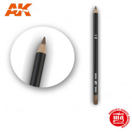 WEATHERING PENCIL FOR MODELLING SEPIA AK10010