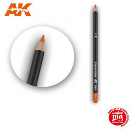 WEATHERING PENCIL FOR MODELLING STRONG OCHER AK10014