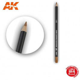 WEATHERING PENCIL FOR MODELLING DARK CHIPPING FOR WOOD AK10017