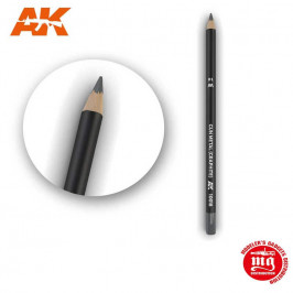 WEATHERING PENCIL FOR MODELLING GUN METAL GRAPHITE AK10018