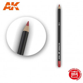 WEATHERING PENCIL FOR MODELLING RED PRIMER AK10020