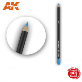 WEATHERING PENCIL FOR MODELLING LIGHT BLUE AK10023