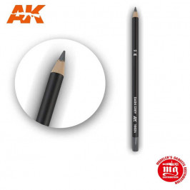 WEATHERING PENCIL FOR MODELLING DARK GREY AK10024
