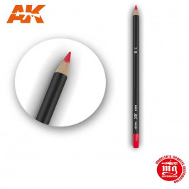WEATHERING PENCIL FOR MODELLING RED AK10031