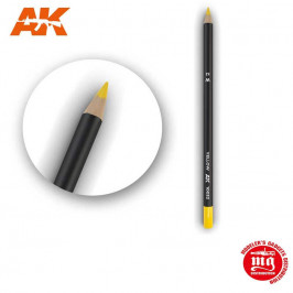WEATHERING PENCIL FOR MODELLING YELLOW AK10032