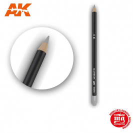 WEATHERING PENCIL FOR MODELLING ALUMINIUM AK10033