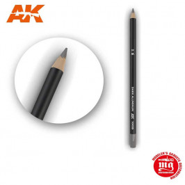WEATHERING PENCIL FOR MODELLING DARK ALUMINIUM AK10035