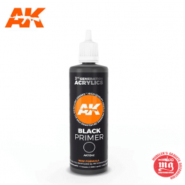 BLACK PRIMER 100ml AK11242