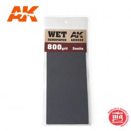 WET SANDPAPER 800 AK9032
