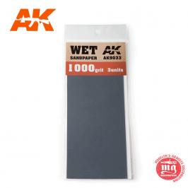 WET SANDPAPER 1000 AK9033