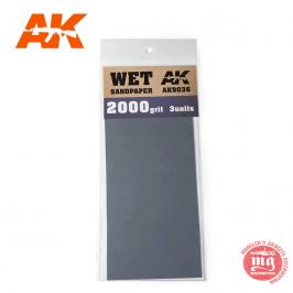 WET SANDPAPER 2000 AK9036