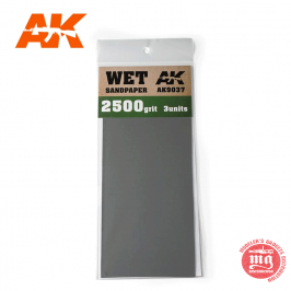 WET SANDPAPER 2500 AK9037