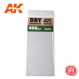DRY SANDPAPER 400 AK9038