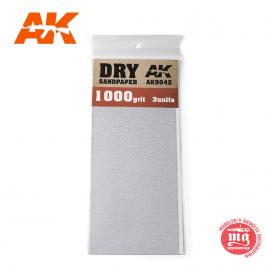 DRY SANDPAPER 1000 AK9042