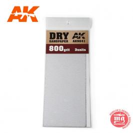 DRY SANDPAPER 800 AK9041