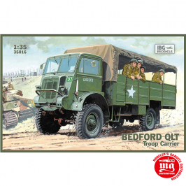 BEDFORD QLT TROOP CARRIER IBG MODELS 35016