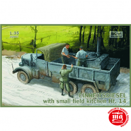 EINHEITSDIESEL WITH SMALL FIELD KITCHEN Hf.14 IBG MODELS 35007