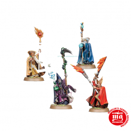 COLLEGIATE ARCANE MYSTIC BATTLE WIZARDS GAMES WORKSHOP 146642