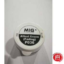 PIGMENTO ALLIED GREEN FADING MIG PRODUCTIONS P036