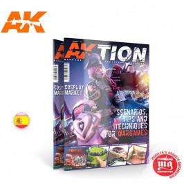AKTION REVISTA DE TÉCNICAS DE WARGAME Nº 1 AK INTERCATIVE AK6301