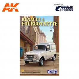 RENAULT 4L FOURGONNETTE EBBRO PLASTIC KIT 25003