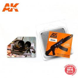 LENTES DE COLOR AZUL 3 MM AK226