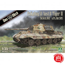 PzKpfwg.VI Ausf.B TIGER II Sd.Kfz.182-s.Pz.Abt.505 DAS WERK DW35013