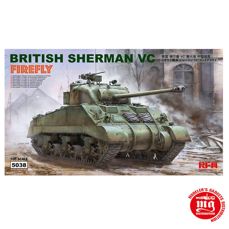 BRITISH SHERMAN FIREFLY RFM 5038