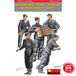 GERMAN TANK CREW NORMANDY 1944 SPECIAL EDITION MINIART 35275